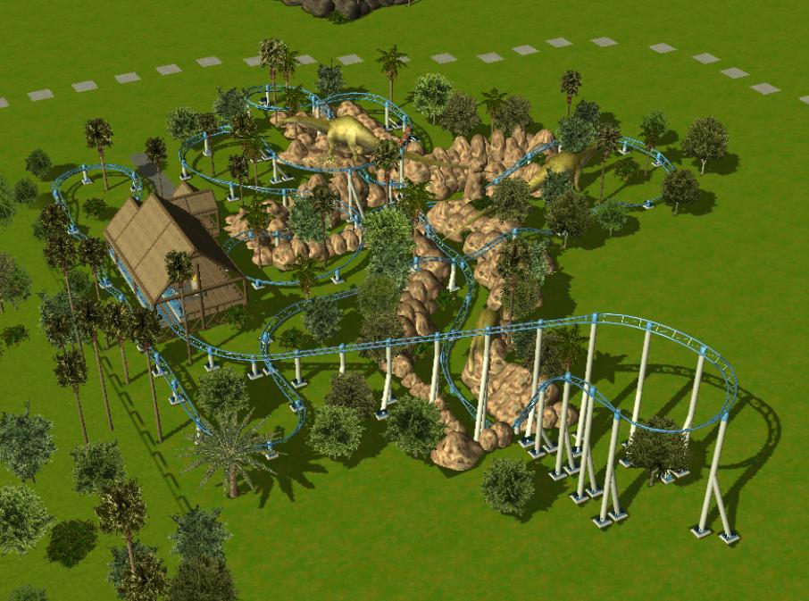 Theme Park Review Rct3 Jurassic World Theme Park Page 2