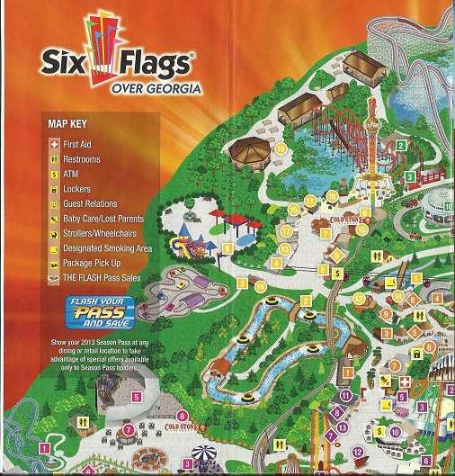 Theme Park Review Six Flags Over Georgia Sfog Discussion Thread