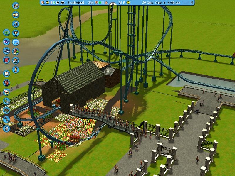 Griffon Recreation [RCT3] - Theme Park Review