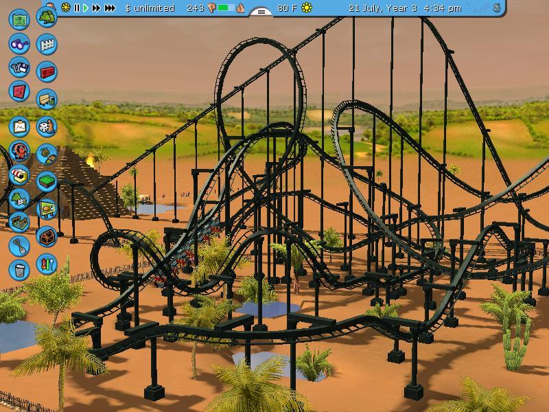 Theme Park Review • RCT 3 King Tut