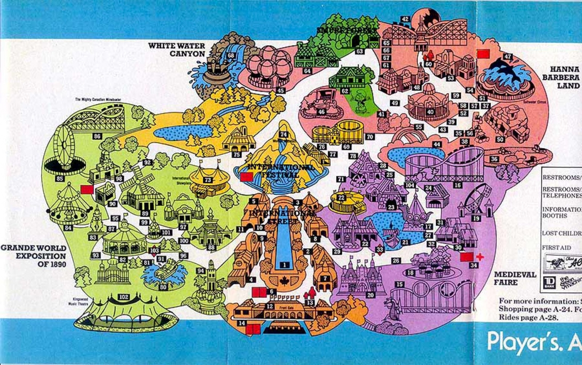 Map Of Canadas Wonderland 2017.Theme Park Review Canada S Wonderland Discussion Thread Page 587