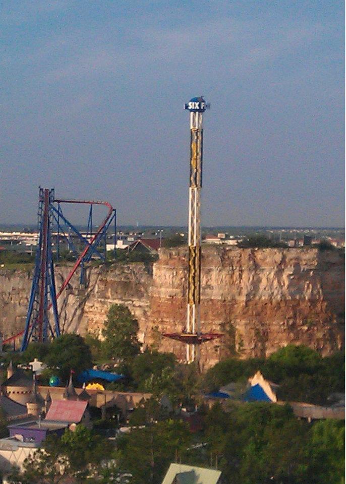 Six Flags Over Texas Texas Skyscreamer
