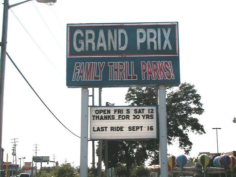 Grand Prix Amusement Park Myrtle Beach