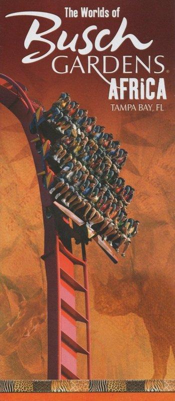 Busch Gardens Tampa 2007 Park Brochure