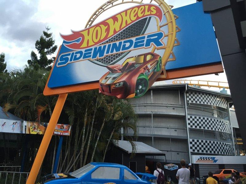 Hot Wheels Sidewinder