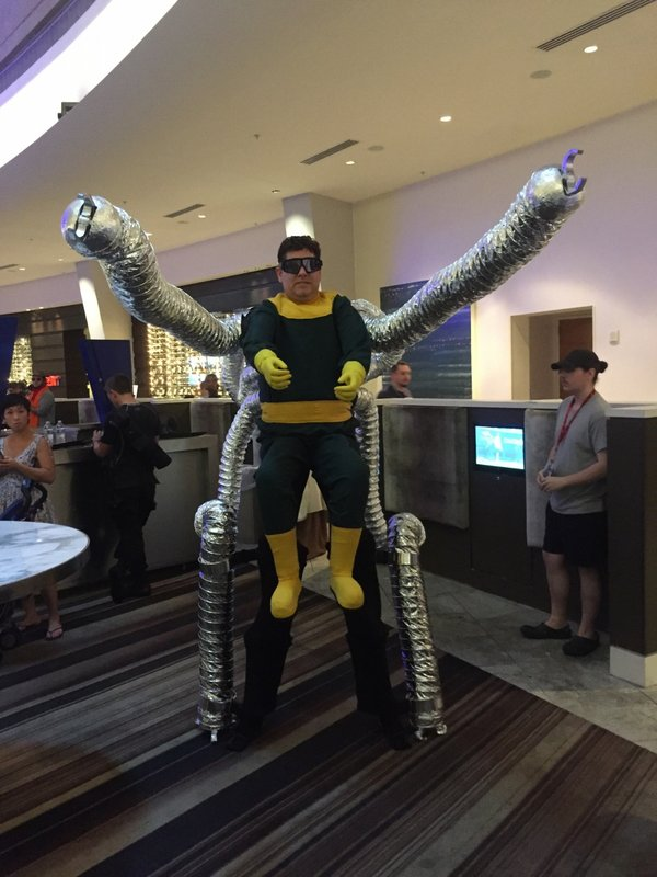 Doctor Octopus & Theme Park Review u2022 Dragon*con 2017 mainly Cosplay Photo Trip Report
