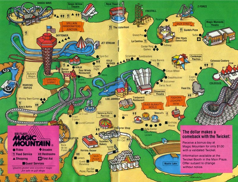 werkaiconta: six flags magic mountain map park on land of make believe map, islands of adventure map, six flags new jersey map, carowinds map, kings island map, great america map, knotts berry farm map, mt. olympus water & theme park map, cedar point map, new orleans six flags park map, busch gardens map, ghost town in the sky map, michigan's adventure map, blackpool pleasure beach map, raging waters map, magic kingdom map, 2014 six flags nj map, 2014 six flags chicago map, thorpe park map, disneyland map,