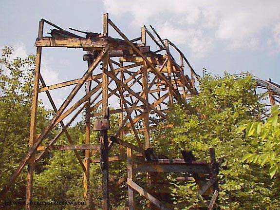 Roller Coaster Demolition : Roller coaster demolition photos page theme park review