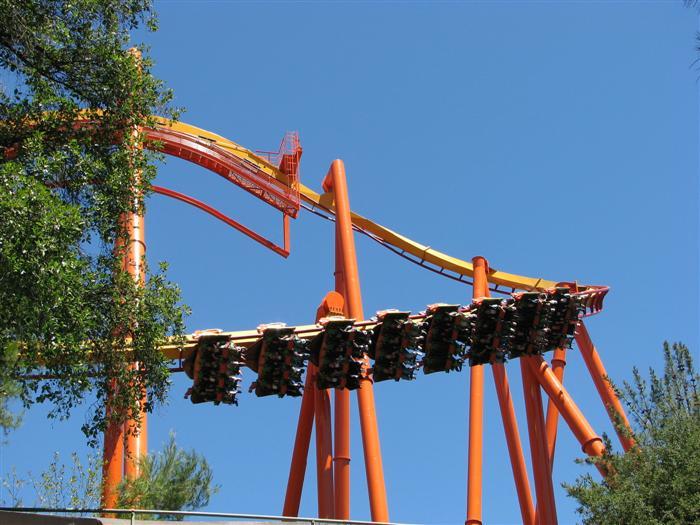 Tatsu Roller Coaster Photos, Six Flags Magic Mountain