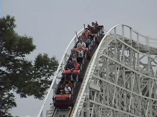 high roller roller coaster