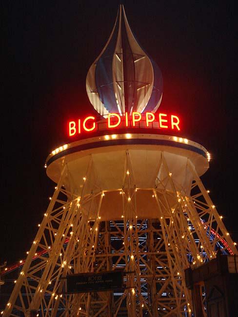 Blackpool Pleasure Beach - Big Dipper