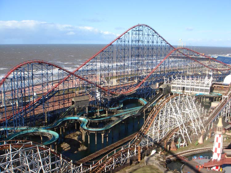 For those of you who didn't know, this is Blackpool Pleasure Beach!