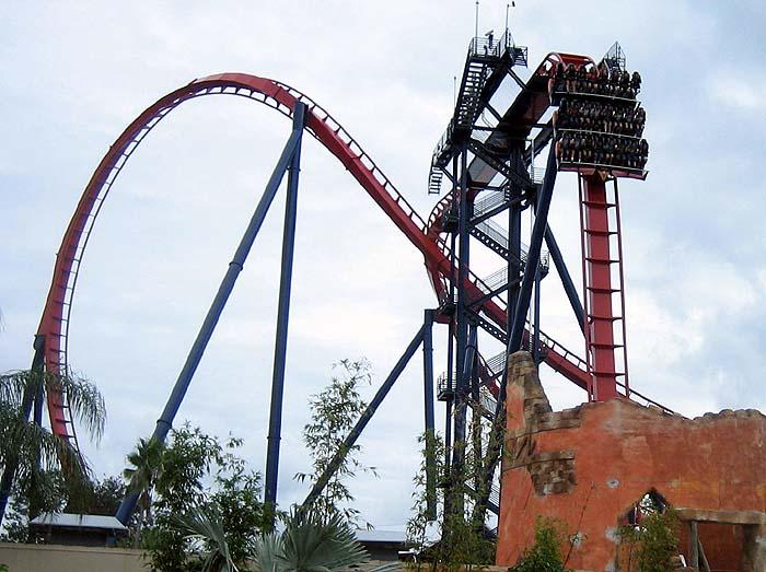 Busch gardens tampa sheikra - Busch gardens tampa roller coasters ...