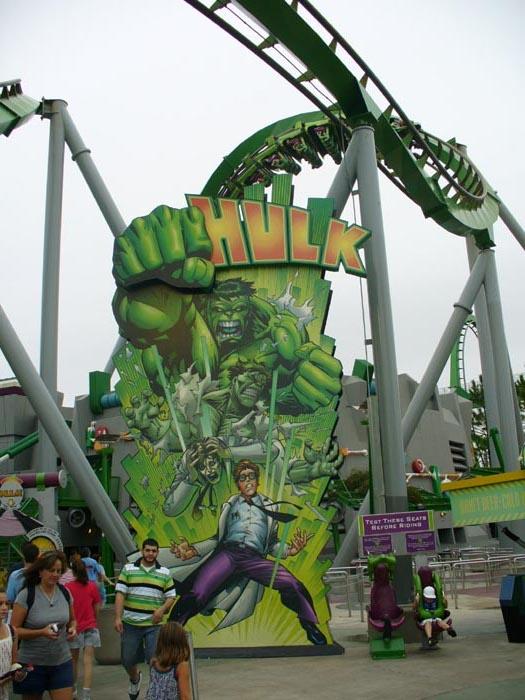 Incredible Hulk Roller...