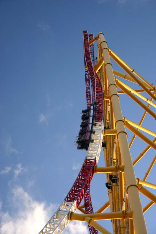 Top Thrill Dragster Roller Coaster Photos - Cedar Point