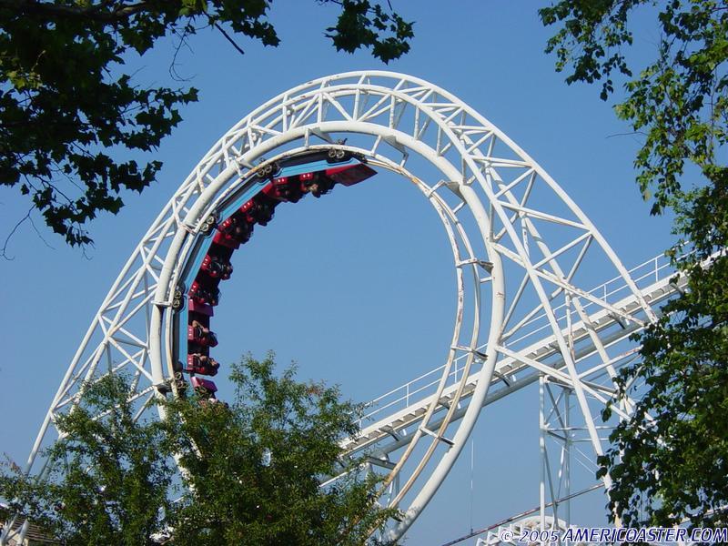 Revolution Roller Coaster Photos, Libertyland