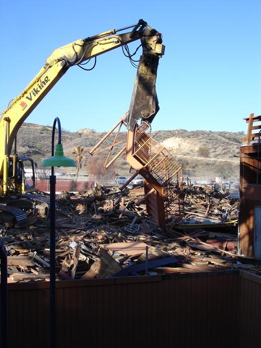 Roller Coaster Demolition : Theme park review roller coaster demolition photos