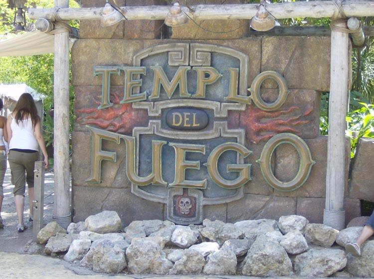 Portaventura Templo Del Fuego
