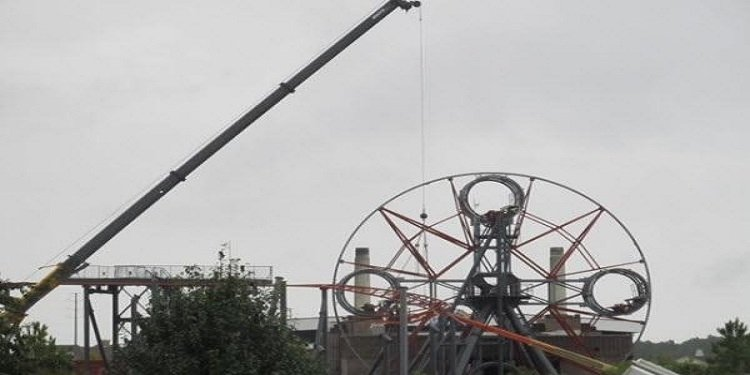 Hard Rock Park Rides Dismantled!