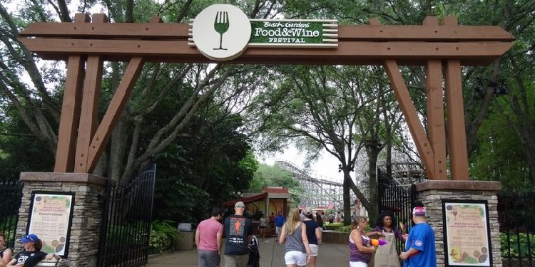 Food & Wine Festival at Busch Gardens Tampa!