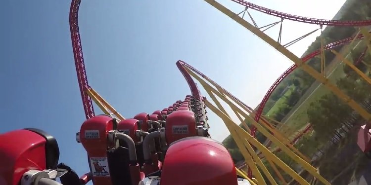 NEW POV Video of Intimidator 305!