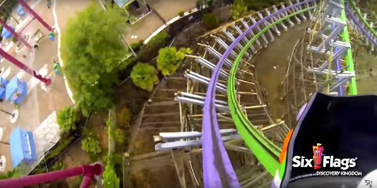 POV Video of the Joker at SF Discovery Kingdom!