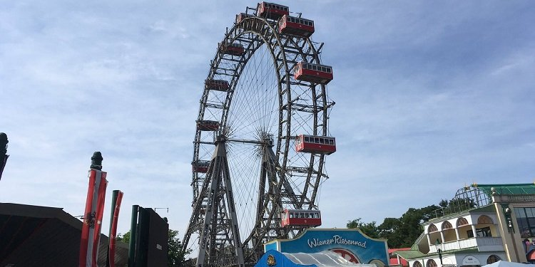 The Alveys' European Adventures: Wiener Prater!