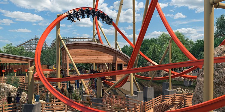 Railblazer is coming to Great America!