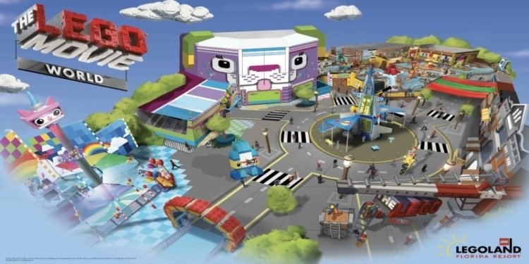 LEGO Movie World Coming to Florida!