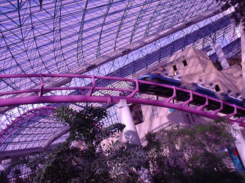 Circus Circus Adventuredome Canyon Blaster Roller Coaster