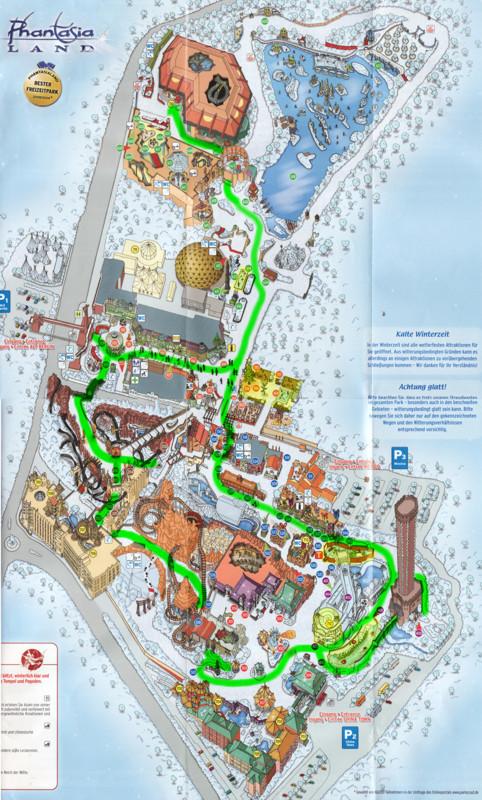 Phantasialand Park Karte.Theme Park Review Photo Tr Phantasialand The Winter