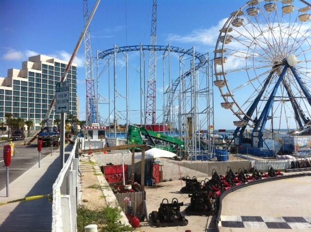 Theme Park Review News Daytona Beach Boardwalk Gets Delaware Amut Area