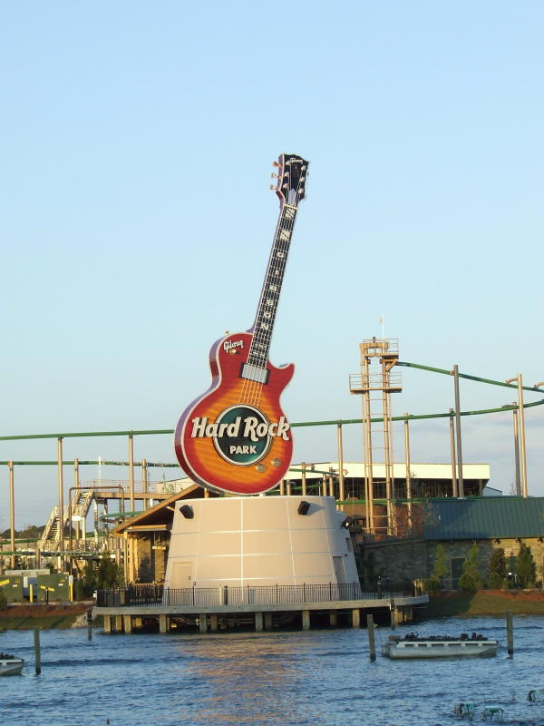 Let There Be Lights And Kites Again >> Theme Park Review • TPR's first ever Hard Rock Park PhotoTR