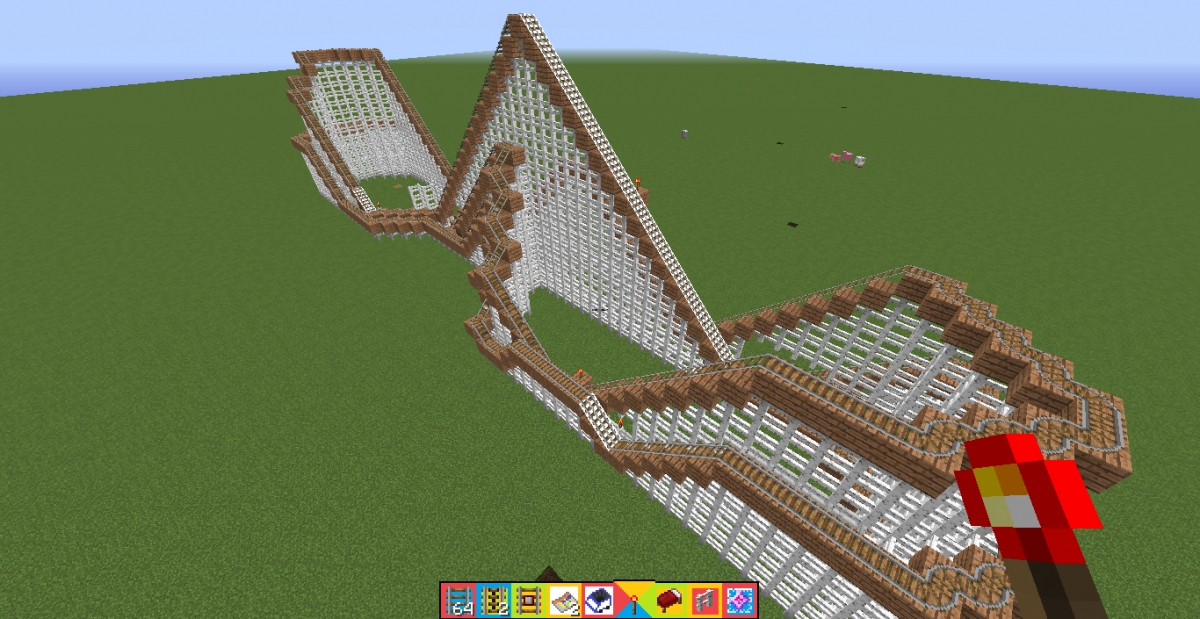 Theme Park Review • Minecraft Astroworld recreation