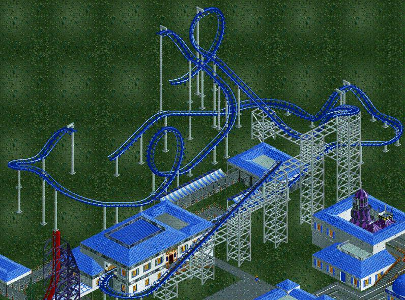 Theme Park Review • Thrill Point Park [RCT2]