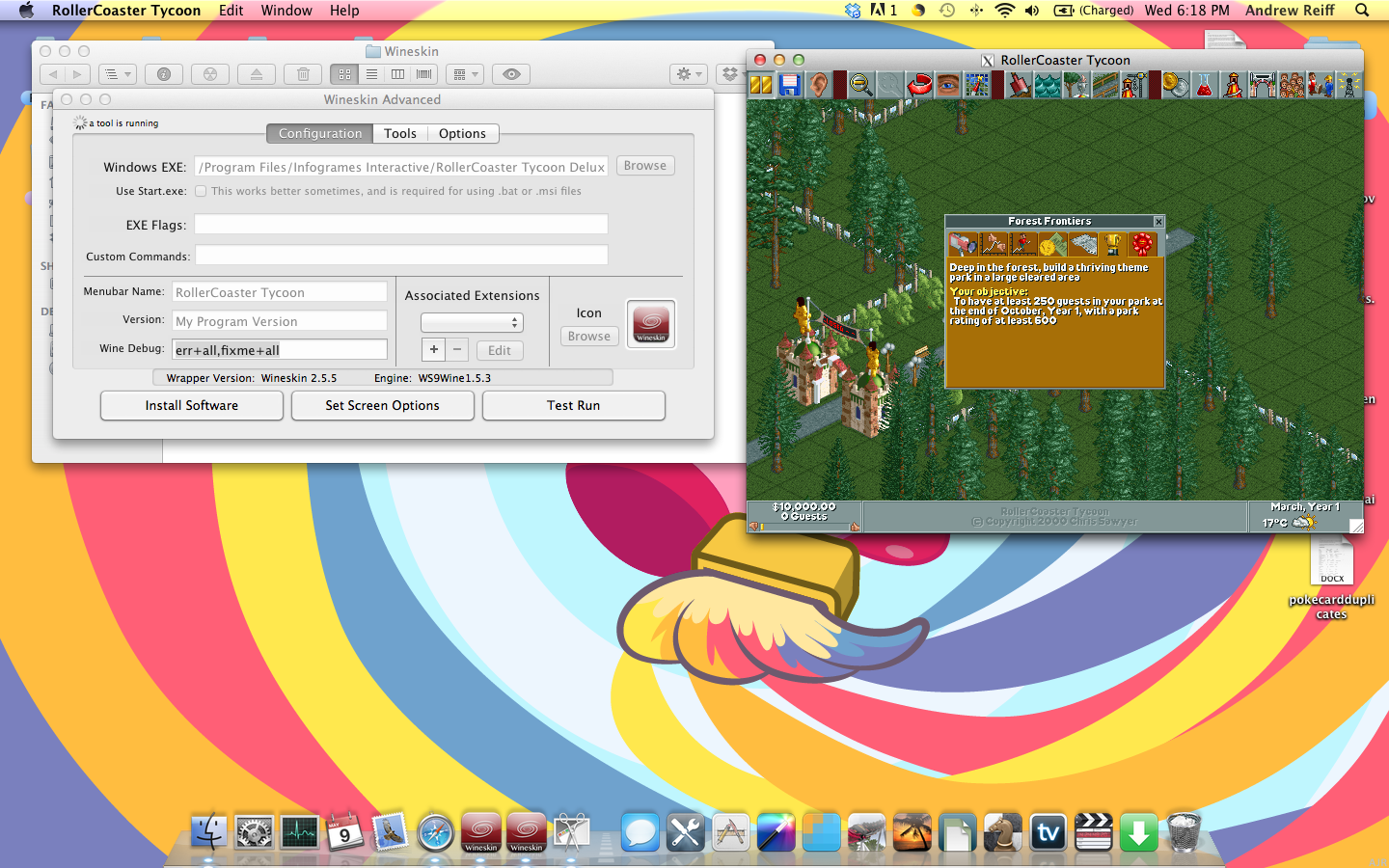 Theme Park Review • Tutorial - Run RCT and RCT2 Natively on