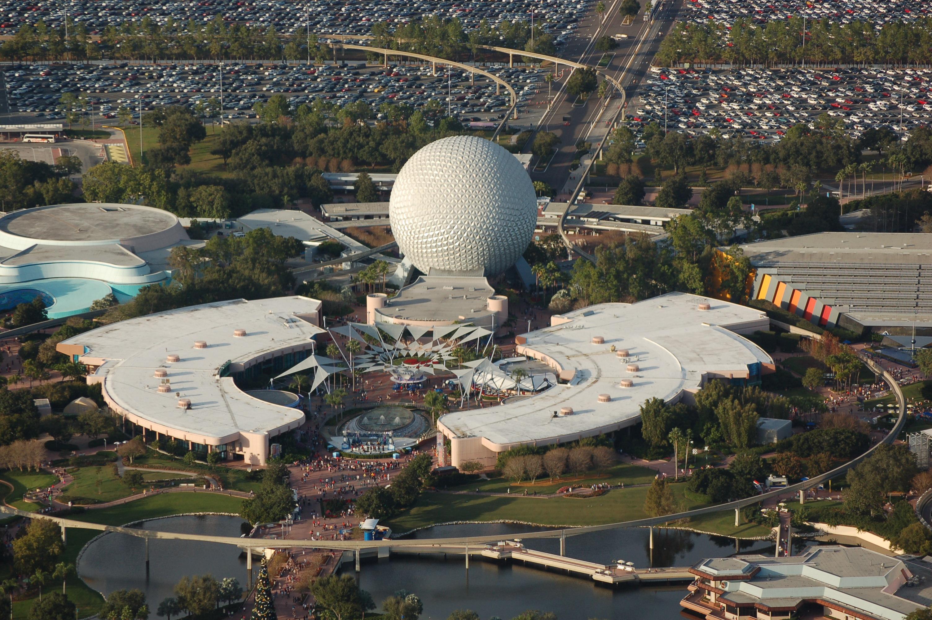 Theme Park Review Walt Disney World Aerial Photos