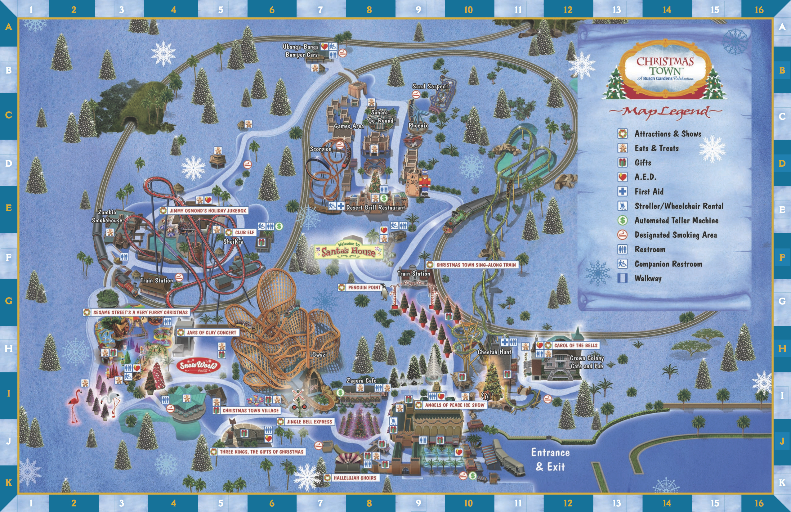 Busch Gardens Christmas Town Tickets.Theme Park Review Busch Gardens Tampa Bay Bgt Discussion