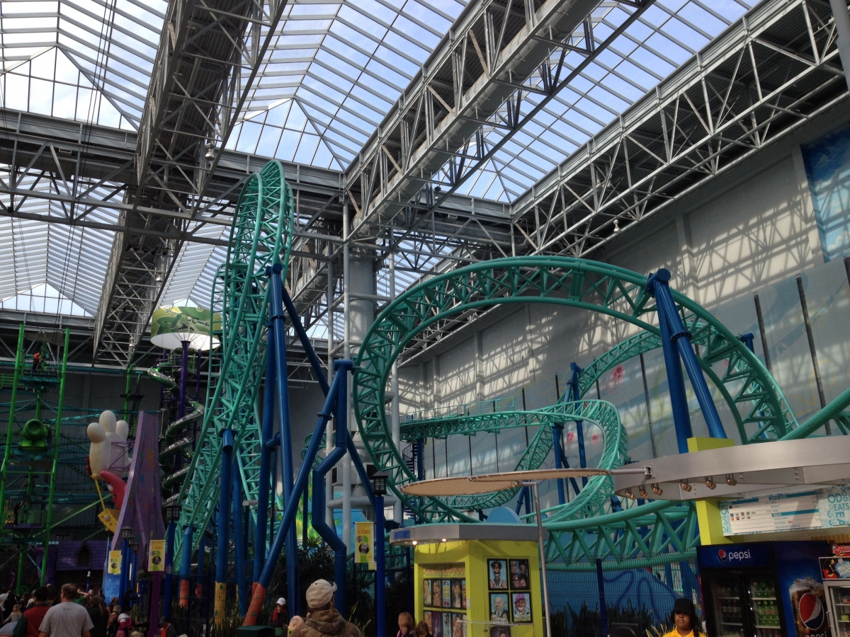 Theme Park Review • Nickelodeon Universe Trip Report - 2/7/2015