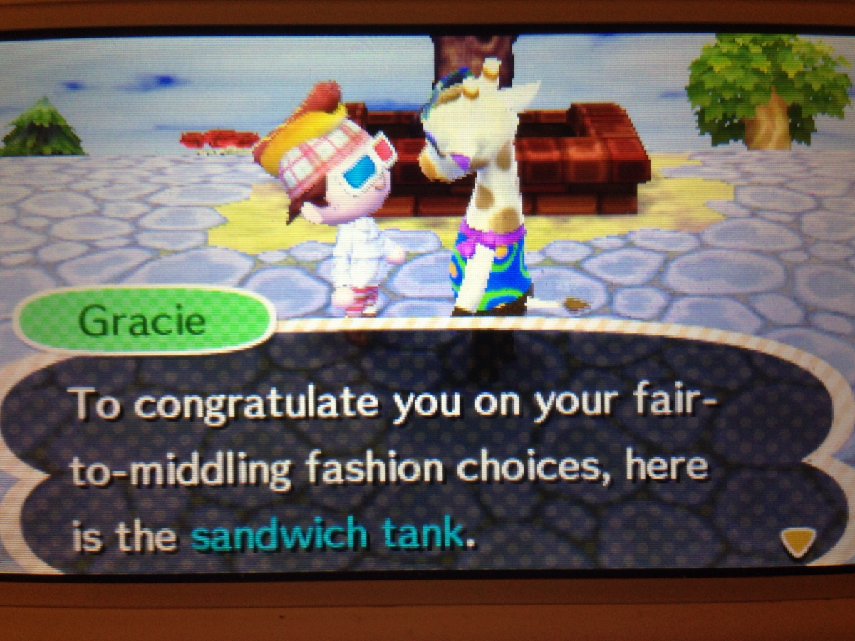 Animal Crossing Gracie Porn theme park review • animal crossing: new leaf - page 36