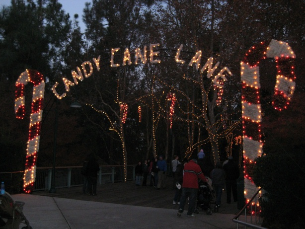 Photo Tr Gilroy Gardens Holiday Of Lights Nights Fire