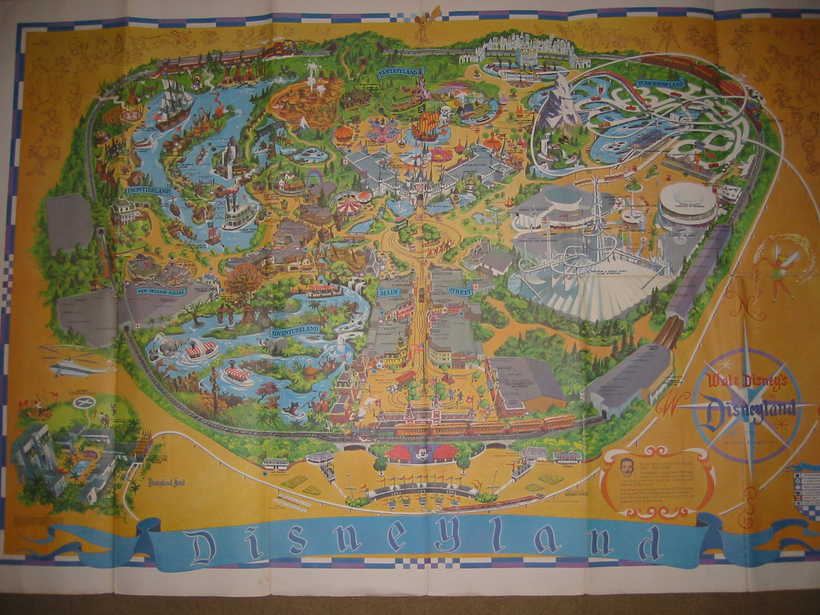 Theme Park Review • Old Disneyland Maps on
