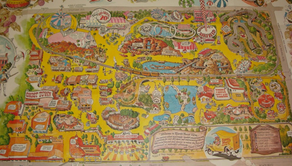 Theme Park Review • Shane's Amut Attic on knott's berry farm map modern, knott's berry farm dining map, disneyland directions map, not of berry farm map, knott's berry farm california map, knott's berry farm map 2014,