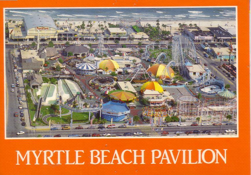 Myrtle Beach Pavilion Mark S Postcard Paradise Pavillion