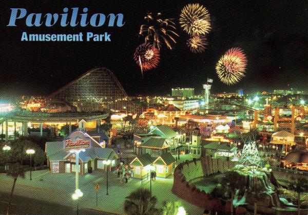 Myrtle Beach Pavilion Mark S Postcard Paradise O D Amut Park