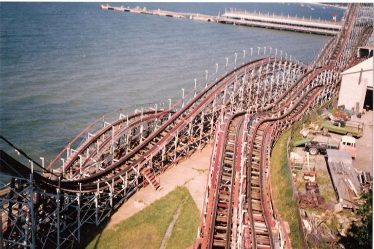 Theme Park Review Retro Photo Tr Crystal Beach Cne And More