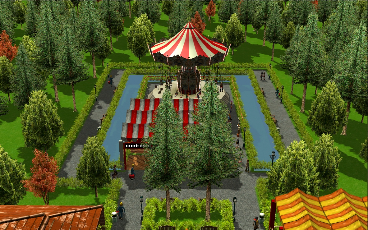theme park review rct3 adventure kingdom 1970