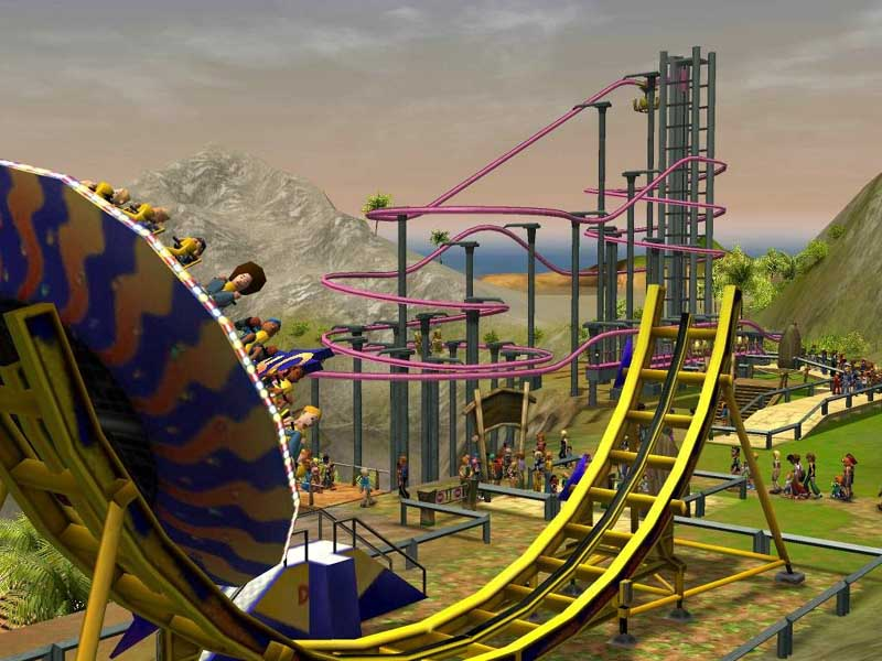 Theme Park Review • NEWS: RollerCoaster Tycoon 3 gets Soaked!