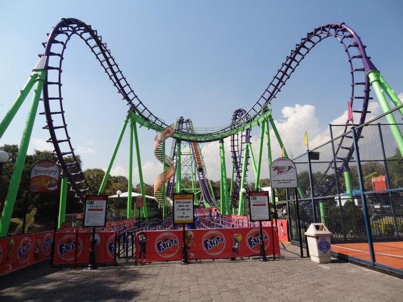 Theme Park Review Photo Tr Six Flags Mexico And La Feria Chapultepec