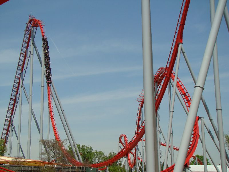 Theme Park Review • Photo TR: Carowinds & Intimidator232